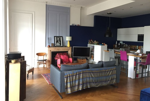 furnished apartment Lyon 7