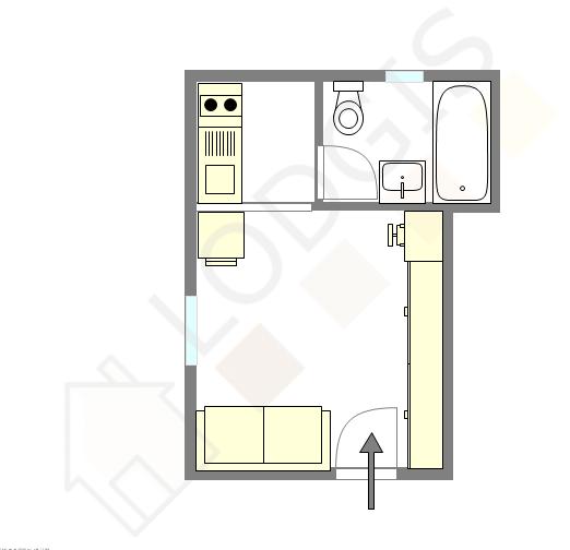 Квартира Val de marne sud - Интерактивный план
