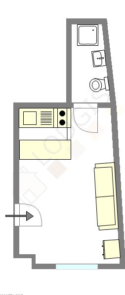 Apartment Paris 17° - Interactive plan