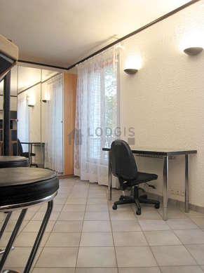 Living room with tilefloor