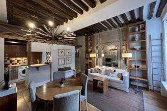 Le Marais Париж Paris 3° 2 спальни Квартира