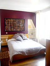Duplex Paris 10° - Bedroom