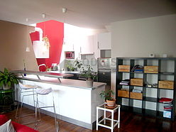 dúplex París 10° - Cocina