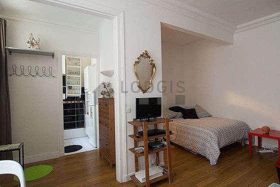 Séjour calme d'un appartementà Paris
