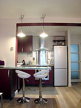 アパルトマン パリ 18区 - キッチン