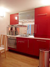 Wohnung Paris 2° - Küche