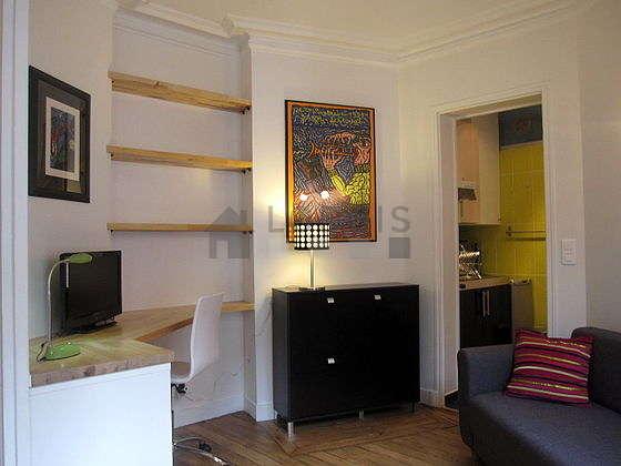 Séjour très calme équipé de 1 canapé(s) lit(s) de 140cm, 1 lit(s) mezzanine de 140cm, télé, chaine hifi