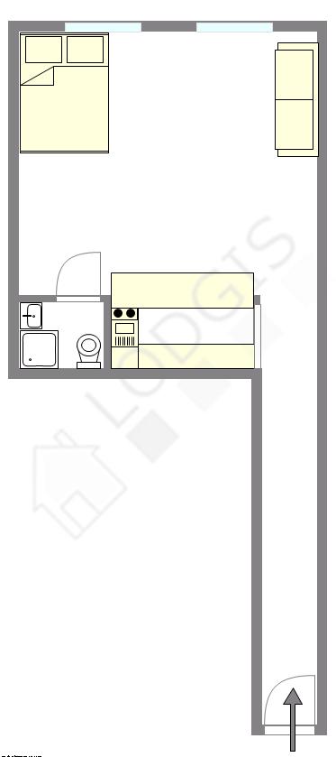 Apartment Paris 2° - Interactive plan