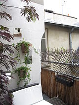 Apartment Paris 3° - Terrace