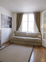アパルトマン パリ 6区 - リビングルーム