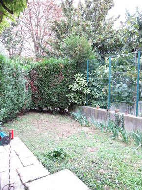 Garden with a grassfloor