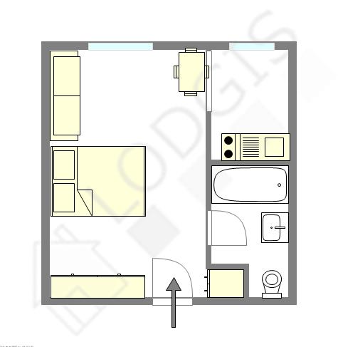 Apartamento Seine st-denis Est - Plano interativo