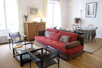 Montparnasse Париж Paris 14° 1 спальня Квартира