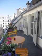 Appartamento Parigi 2° - Terrazzo
