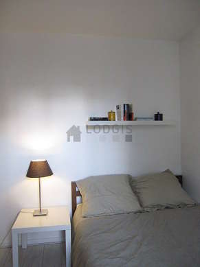 Bedroom for 4 persons equipped with 1 bed(s) of 140cm, 1 sofabed(s) of 140cm