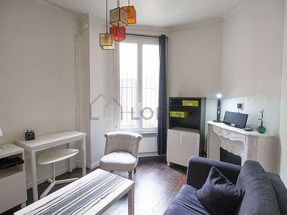 Very quiet living room furnished with 1 sofabed(s) of 140cm, tv, hi-fi stereo, 2 armchair(s)