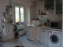 双层公寓 巴黎14区 - 客厅