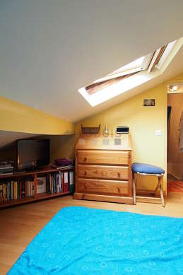 Quiet bedroom for 2 persons equipped with 1 futon(s) of 180cm