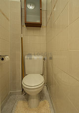 Apartment Paris 19° - Toilet