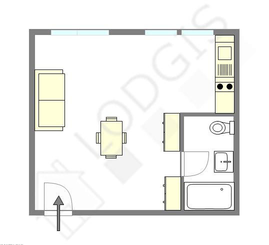 Apartamento Seine st-denis Nord - Plano interactivo