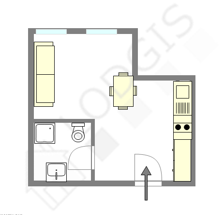 Apartment Seine st-denis Nord - Interactive plan