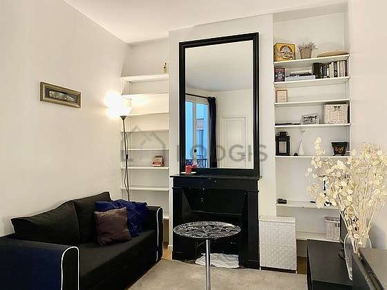 Very quiet living room furnished with 1 sofabed(s) of 130cm, tv, 1 armchair(s), 4 chair(s)