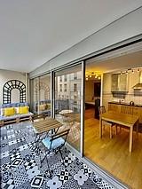 Wohnung Paris 7° - Terasse