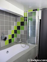 デュプレックス パリ 19区 - バスルーム