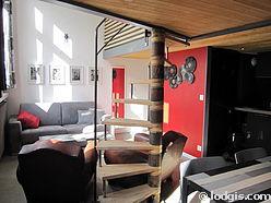 Duplex Paris 19° - Wohnzimmer