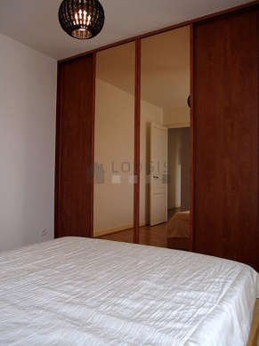 Very quiet bedroom for 2 persons equipped with 1 bed(s) of 140cm