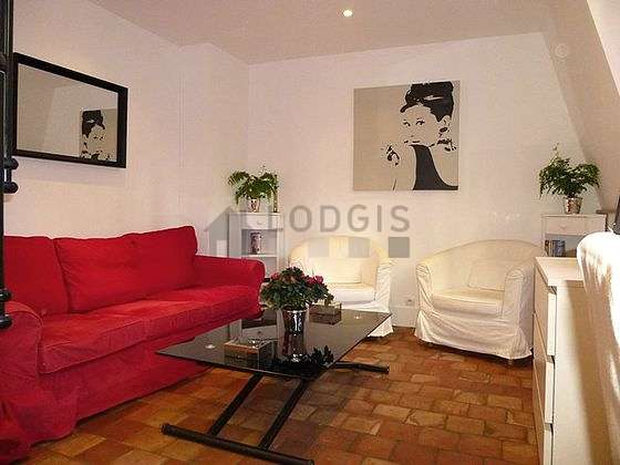 Very quiet living room furnished with 1 sofabed(s) of 140cm, tv, 2 armchair(s), 1 chair(s)