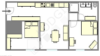 Apartamento París 2° - Plano interactivo