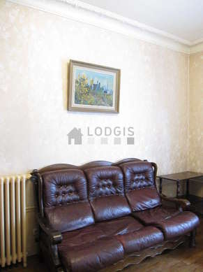 Living room furnished with 1 sofabed(s) of 140cm, tv, dvd player, 2 armchair(s)