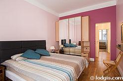 アパルトマン パリ 16区 - ベッドルーム