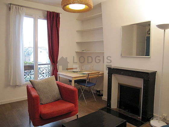 Very quiet living room furnished with 1 sofabed(s) of 140cm, tv, fan, 1 armchair(s)