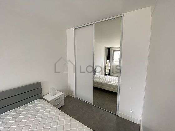Very bright bedroom equipped with cupboard, 2 chair(s)