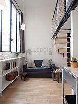 雙層公寓 巴黎14区 - 客廳
