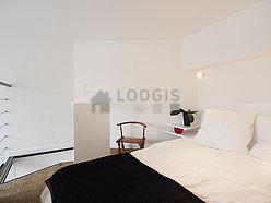 双层公寓 巴黎14区 - 卧室