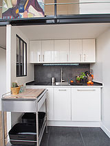 雙層公寓 巴黎14区 - 廚房
