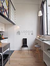 双层公寓 巴黎14区 - 厨房