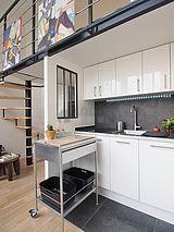 Dúplex Paris 14° - Cozinha