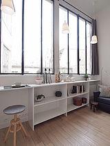 Duplex Paris 14° - Living room