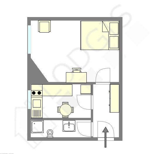 Apartamento Haut de seine Nord - Plano interactivo