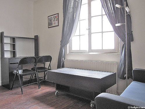 Séjour très calme équipé de 1 canapé(s) lit(s) de 120cm, table basse, 2 chaise(s)