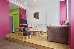 duplex Parigi 18° - Soggiorno