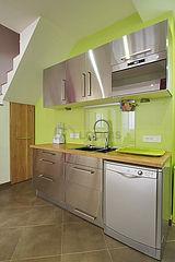 Dúplex Paris 18° - Cozinha