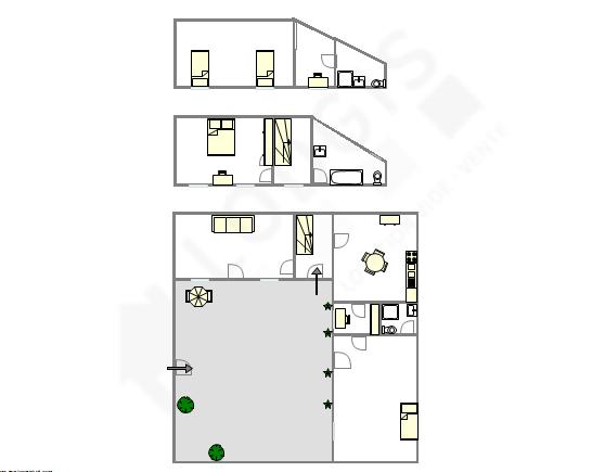 Haus Paris 13° - Interaktiven Plan