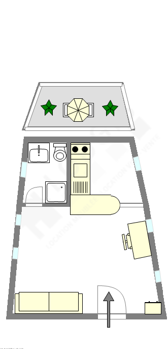 barca Paris 13° - Plano interativo