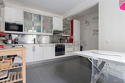 Apartamento París 15° - Cocina