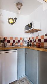 公寓 巴黎18区 - 厨房